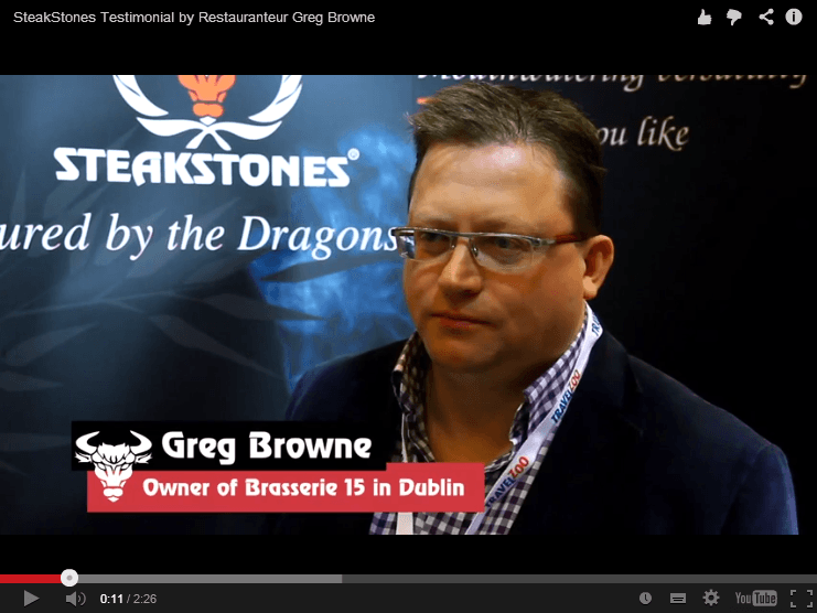 Greg Browne Reviews SteakStones