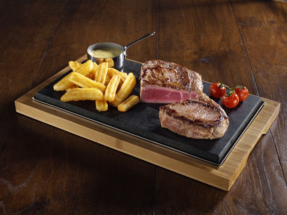 Sharing Steak Plate SteakStones, The Home of Hot Stone Cooking