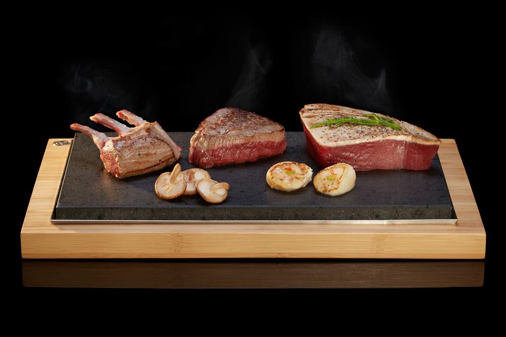 the steakstones sharing steak plate ss003 steakstones. Black Bedroom Furniture Sets. Home Design Ideas