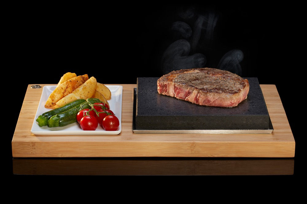 The Steakstones Sizzling Steak Plate Set Ss002 Steakstones