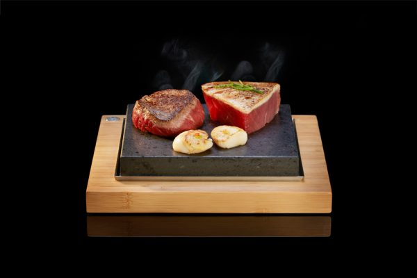 The Steak Plate from SteakStones, Home of Hot Stone Cooking