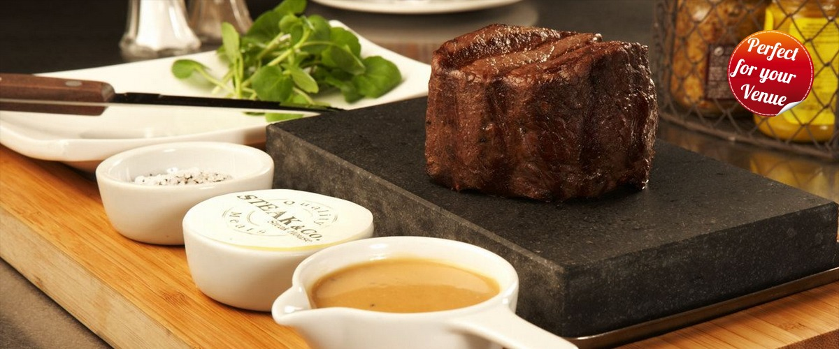 SteakStones a Sizzling Success at Steak & Co