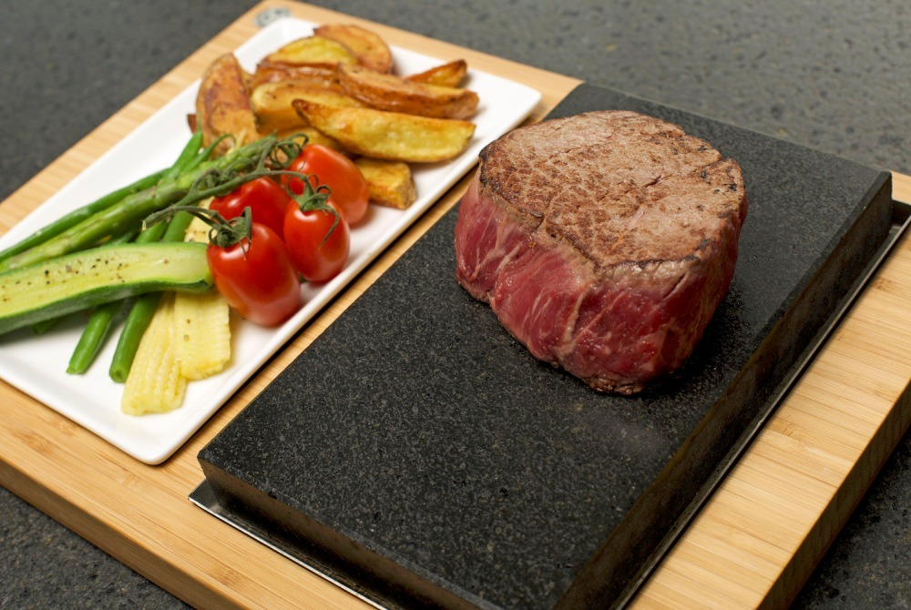 The SteakStones Steak & Side Set
