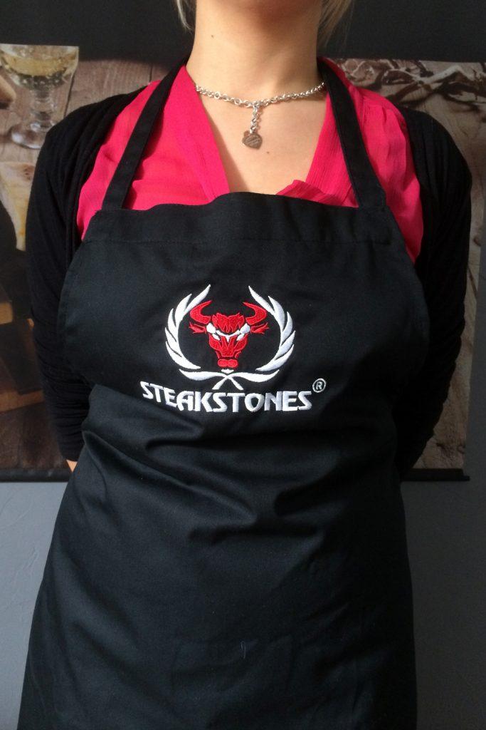 SteakStones Chest Apron Detail