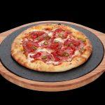 SteakStones Pizza Stone on Black Background