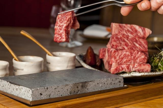 Kobe Beef Sushi Samba SteakStones