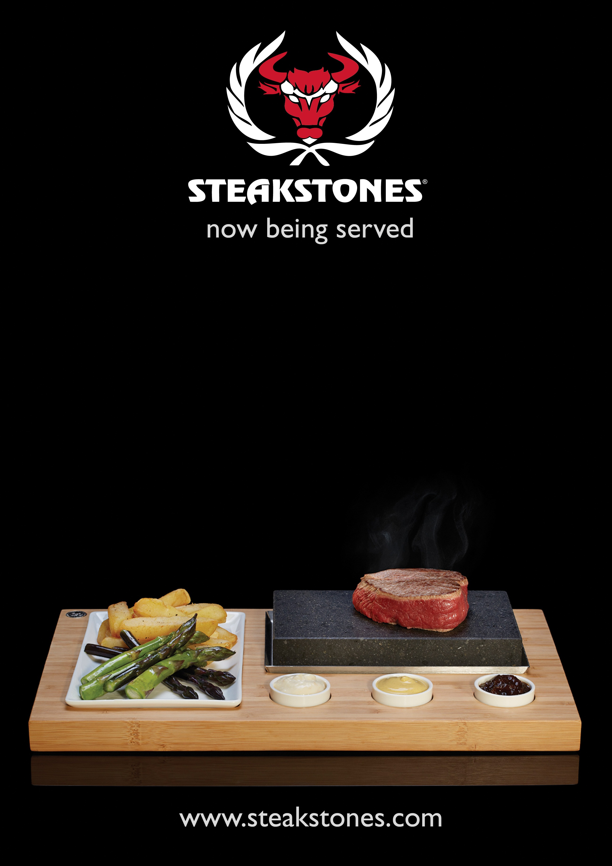 Steakstones A4 Poster