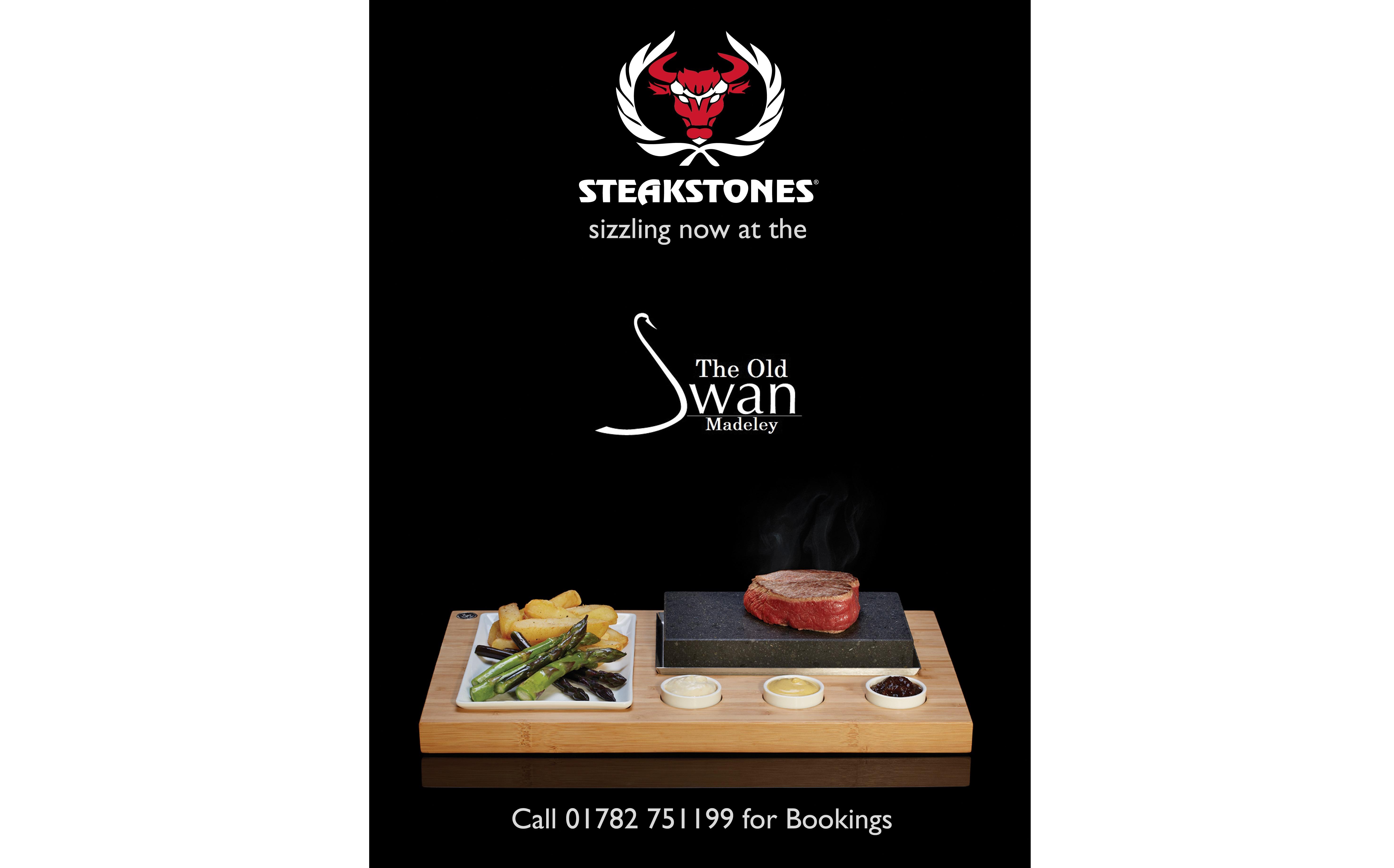 Steakstones A4 Poster Custom