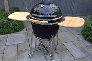 SteakStones Kamado Smoker & Grill