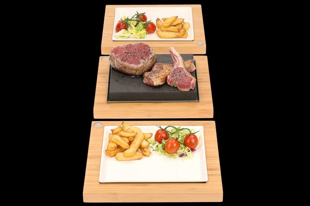 The Steak Plate & Server Sets