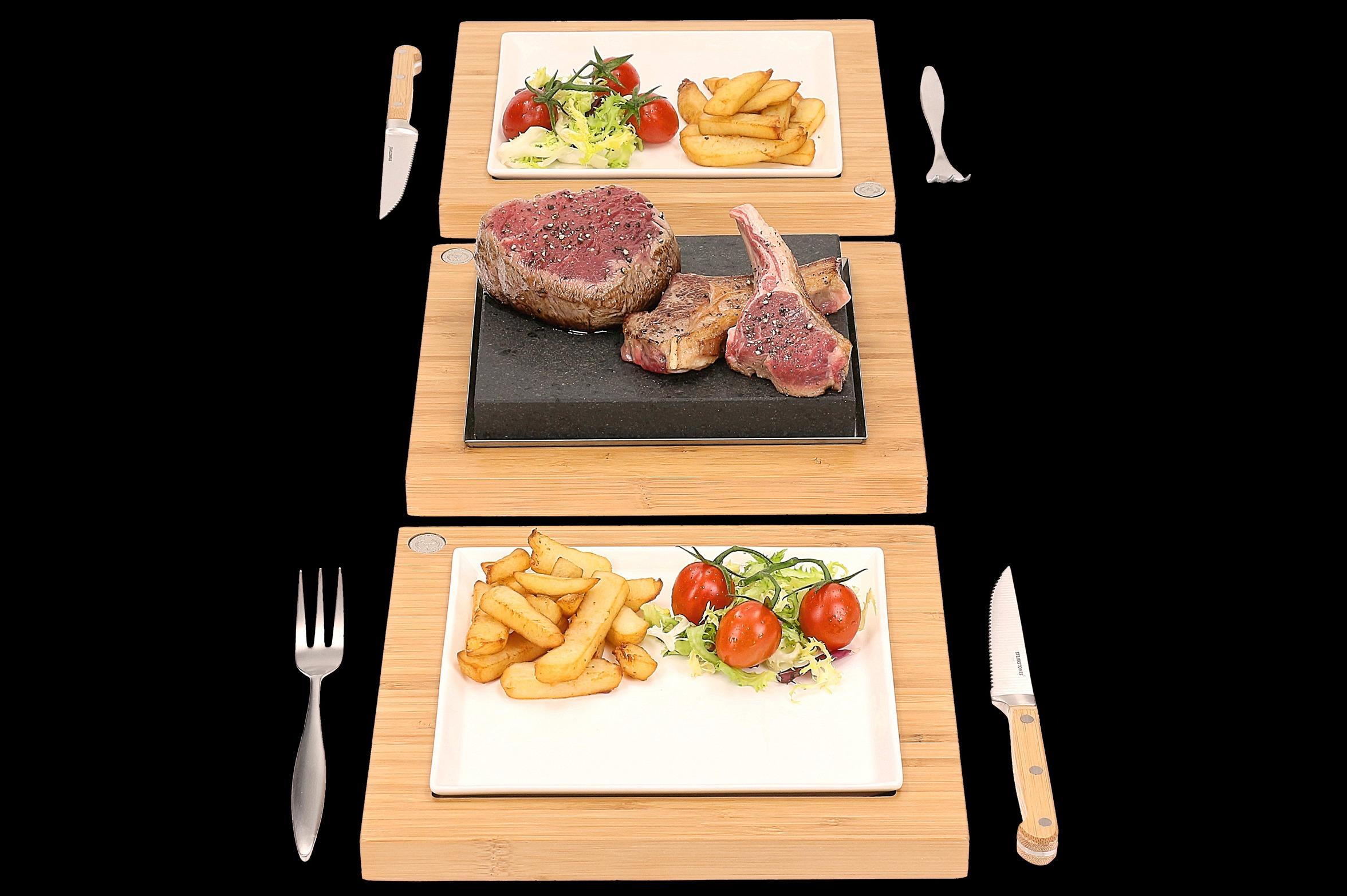 The Steak Plate & Servers Set