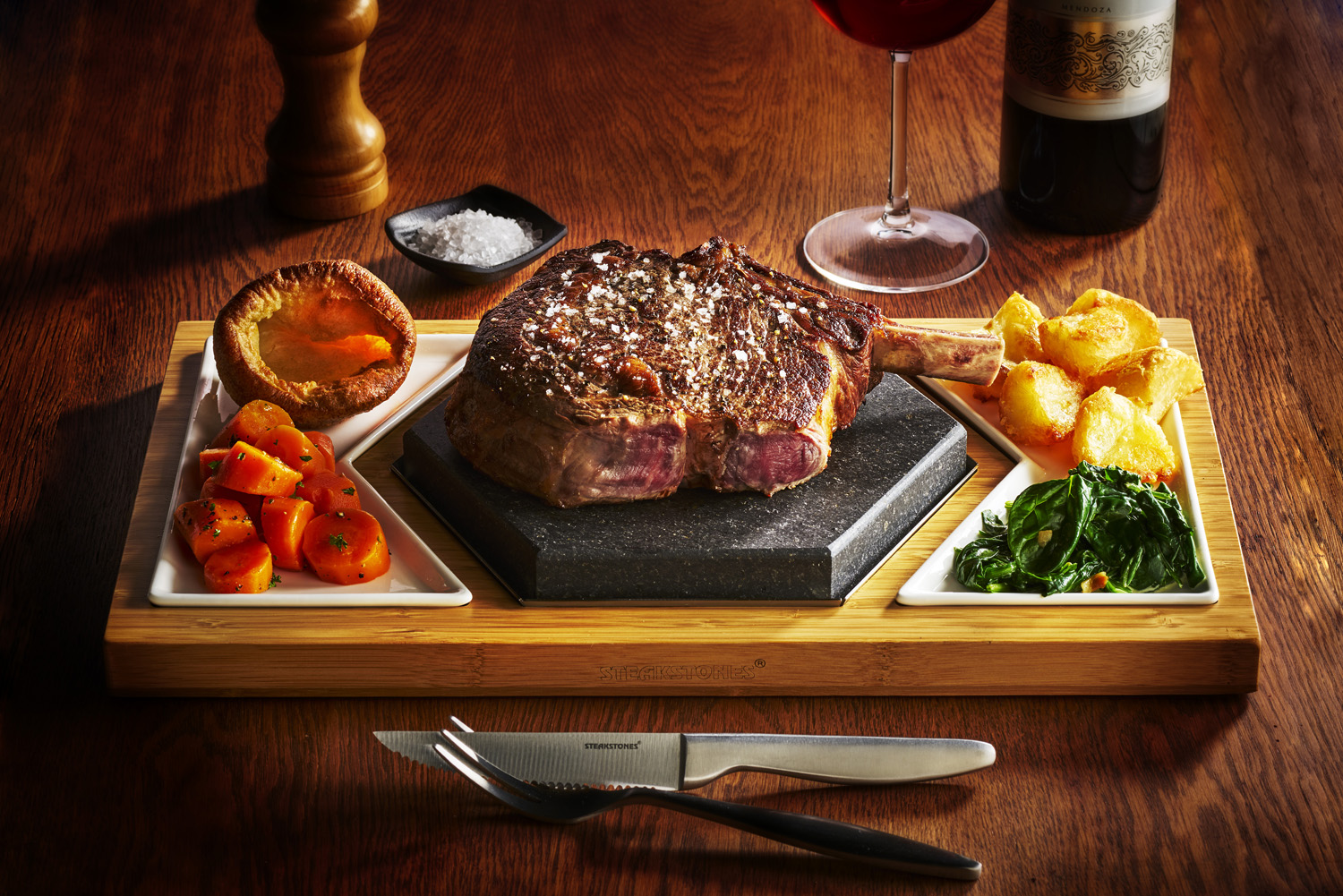 The Perfect, Sizzling Sunday Roast on the SteakStones Hex Set
